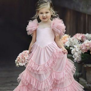Dollcake Sweetly in the Trees Dusty Pink Frock HTF